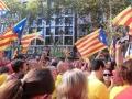 manifestació a Barcelona. Ajuntament Sant Pere de Vilamajor