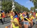 manifestació a Barcelona. Ajuntament Sant Antoni de Vilamajor
