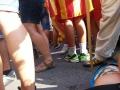 manifestació a Barcelona. Foto Ferran Calvera